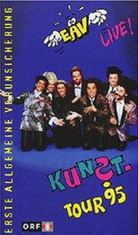 Cover Erste Allgemeine Verunsicherung - Kunst-Tour 95 [DVD]